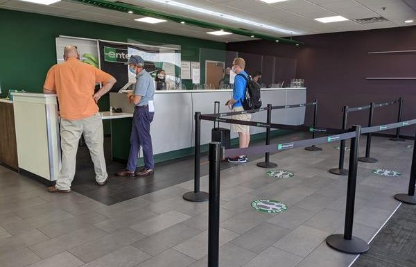 Experiencing Enterprise Rent-A-Car During COVID-19 Pandemic