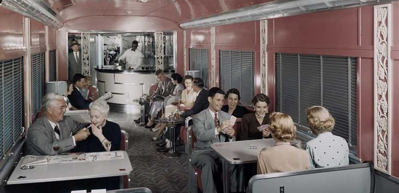 Beautiful pictures of the golden age of train travel