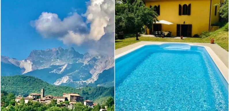 A couple is raffling off their Tuscan home worth more than $500,000 but you could win the whole property for $32