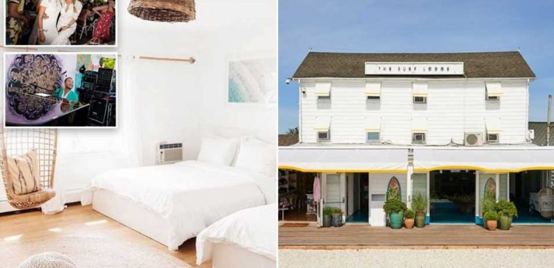 Hamptons party spot The Surf Lodge transforms into a WELLNESS retreat