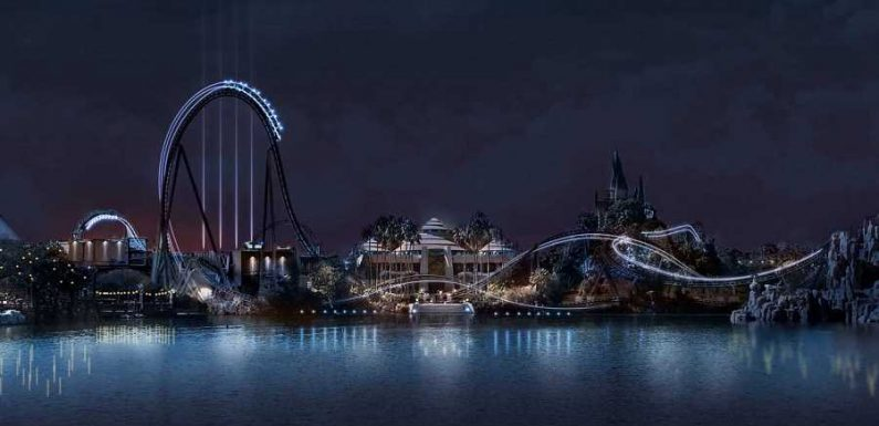 Universal Orlando's Newest Roller Coaster Will Have Its Steepest Drop Yet