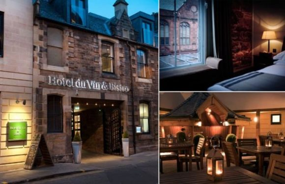Hotel du Vin Edinburgh: A stylish bolthole in a perfect city centre location