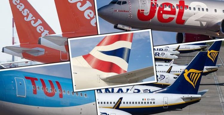 Flights: easyJet, Ryanair, British Airways, Jet2 and TUI latest updates amid rule changes