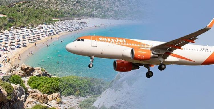 easyJet holidays boasts Crete holiday deals from next week as quarantine is lifted