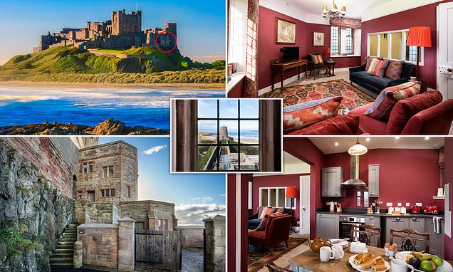 Holidaymakers can now stay in Bamburgh Castle's medieval Clock Tower