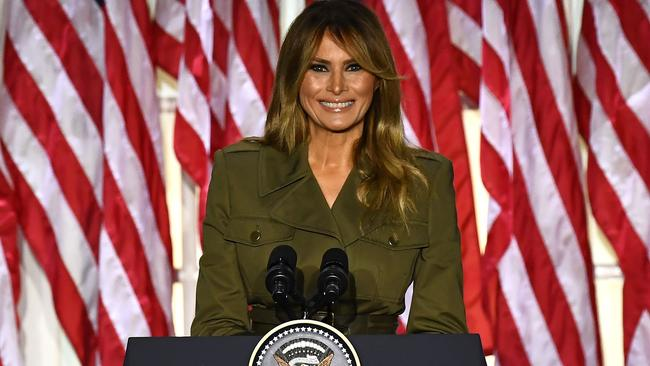 A statute of First Lady Melania Trump has been called 'hideous'