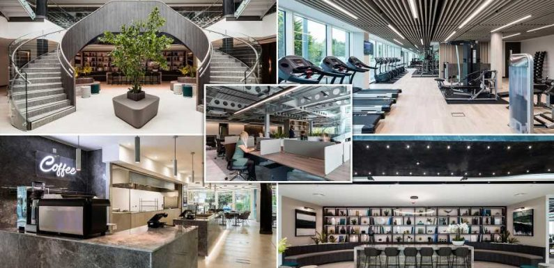 Is this the UK's most luxurious office?