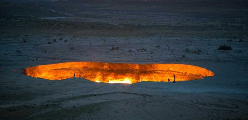 The 'Door to Hell' and Earth's other mysterious places