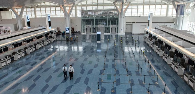 The world's busiest airports — and how far they've fallen