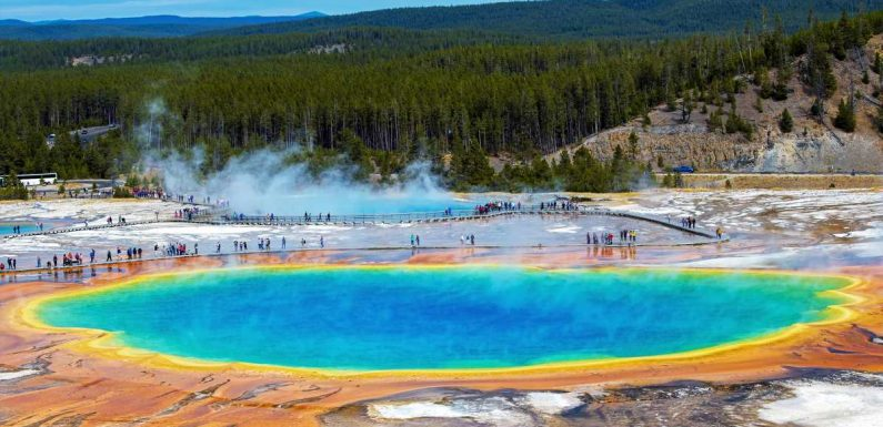 3-year-old burned after running off Yellowstone trail, falling into thermal feature