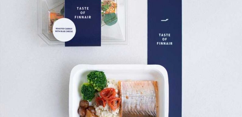 Finnair is now selling its in-flight business class meals in grocery stores