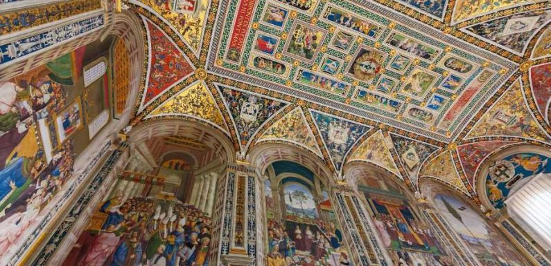 Look up and discover the world's most beautiful ceilings