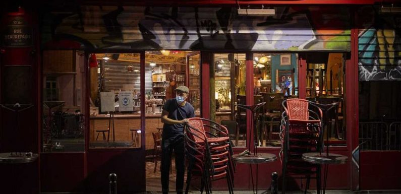Paris Closes Bars and Enacts New Restrictions As 2nd Wave of Coronavirus Sweeps City