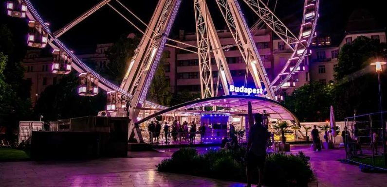 You Can Now Enjoy a Michelin-starred Meal From a Ferris Wheel Overlooking Budapest