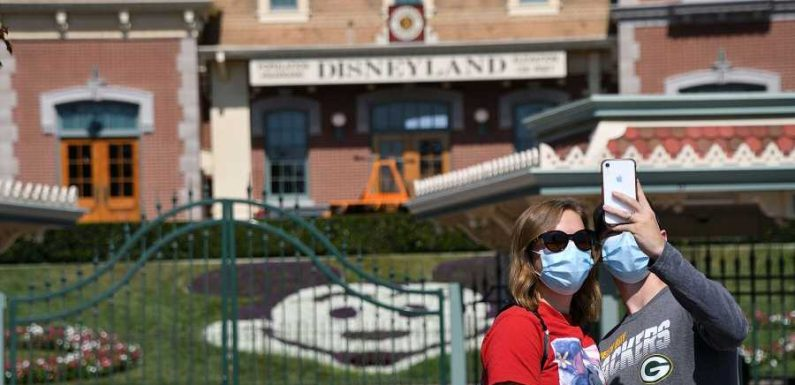 California Gov. Sends Team to Out-of-state Theme Parks to Help Inform Decision on Reopening Disneyland