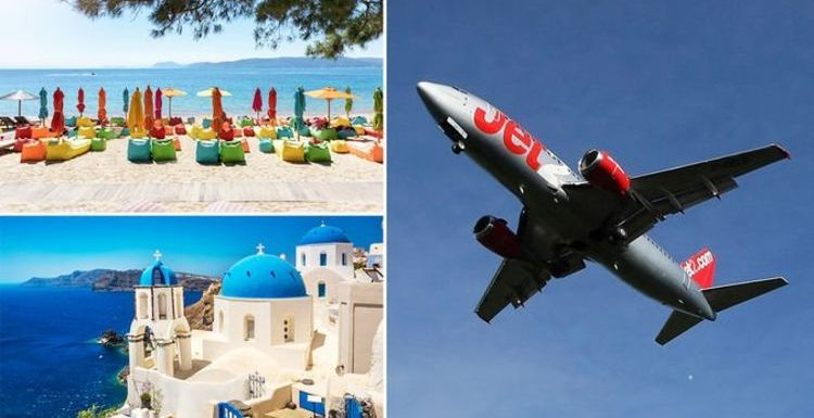 Jet2 flights and holidays: Four new Greece routes announced for summer 2021
