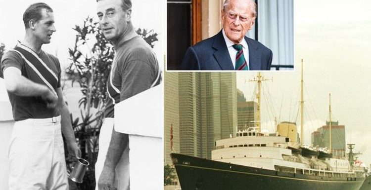 Prince Philip kept saucy 'naked buttocks' photo from Lord Mountbatten on royal yacht