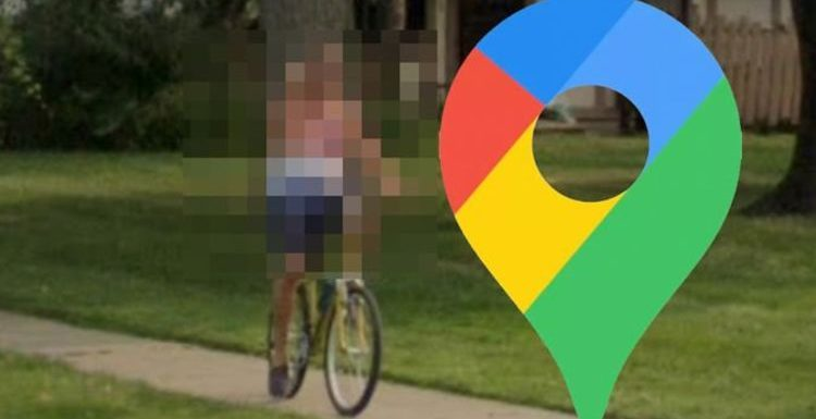 Google Maps Street View: Man's crude move while riding bike spotted in residential area