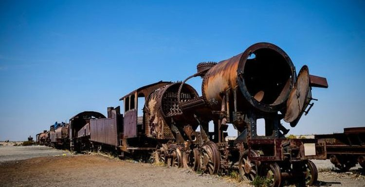 Travel pictures: World's most haunting vehicle 'boneyards' – from planes to trains