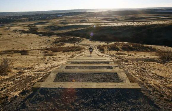 New Rueter-Hess Incline Challenge opens in Parker on Thanksgiving
