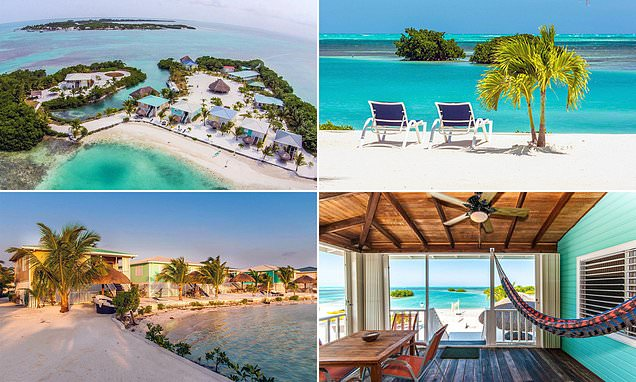 Stunning private island resort in Belize hits market for £3.3million