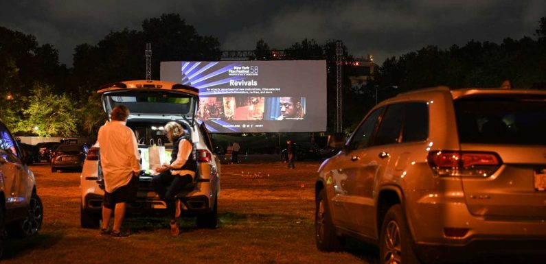 Sunset falls on a historic season for the drive-in