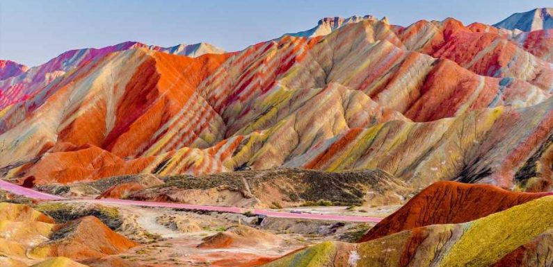 These are the world's most colorful natural wonders