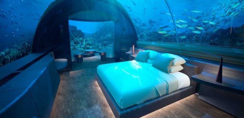 Amazing underwater hotel rooms you'll want to check-in to
