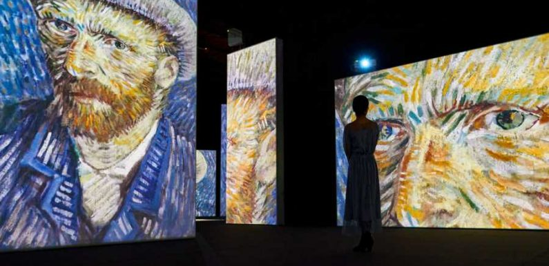 Immersive Van Gogh Exhibit Makes Its North American Debut With Large-scale, High-definition Projections of His Most Iconic Work