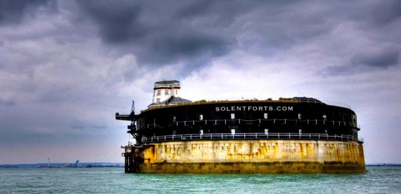 3 Bond-worthy luxury sea forts off the coast of England are for sale for up to $5.5 million each. Take a look inside.