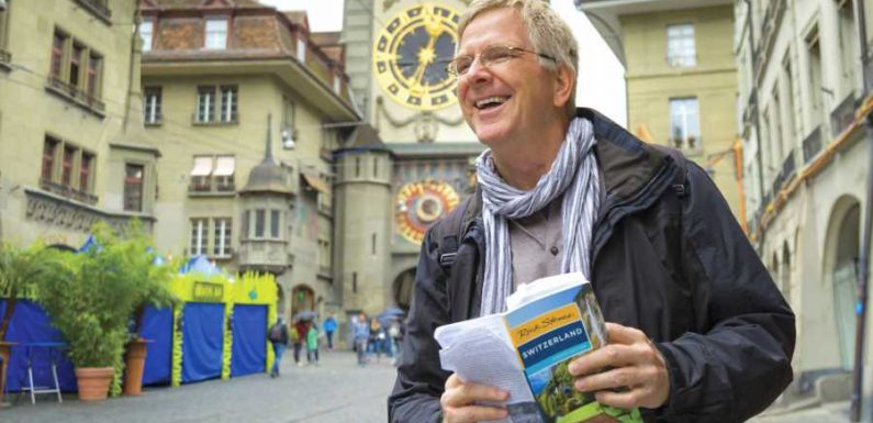 Rick Steves Just Shared the Ultimate Throwback Photo From His Eurotrip After High School Graduation