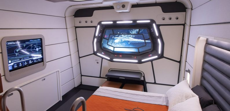 Disney Just Released a Peek at the Rooms in the Star Wars-Themed Hotel, and OMG, We Can't Wait