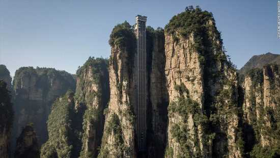 Revisit the inspiration for 'Avatar's' Pandora with a ride up the world's tallest outdoor elevator