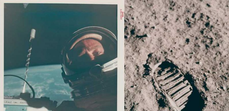 You Could Own the First Selfie in Space and the Only Image of Neil Armstrong on the Moon