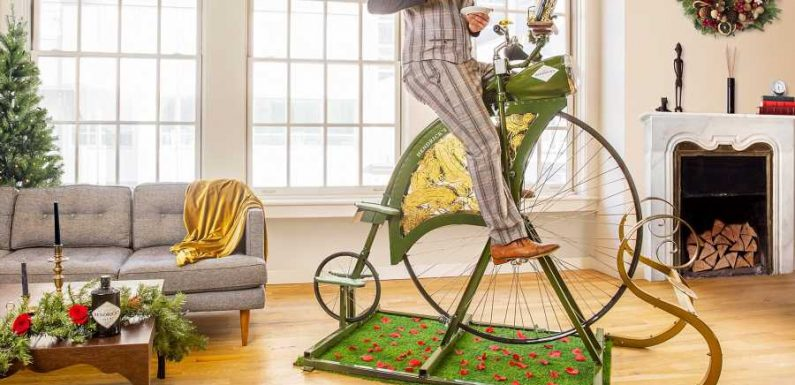 Hendrick's Gin Just Released an Exercise Bike so You Can Pedal for Cocktails