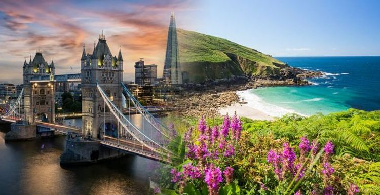 London hailed as Britons' top 2020 staycation hotspot but Cornwall may take the 2021 crown