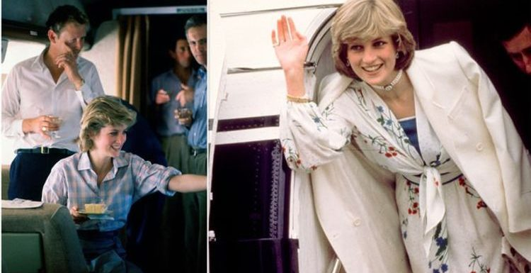 Princess Diana brightened terrifying moment royal plane dropped '10,000 ft' with 'humour'