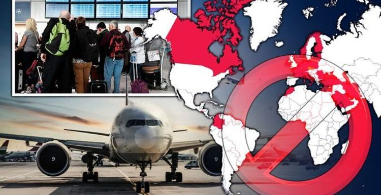 UK travel ban MAPPED: What countries have banned UK flights due to Covid strain?