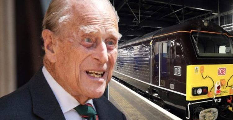 Prince Philip's royal train bathroom mirror that means he can multi-task on the toilet