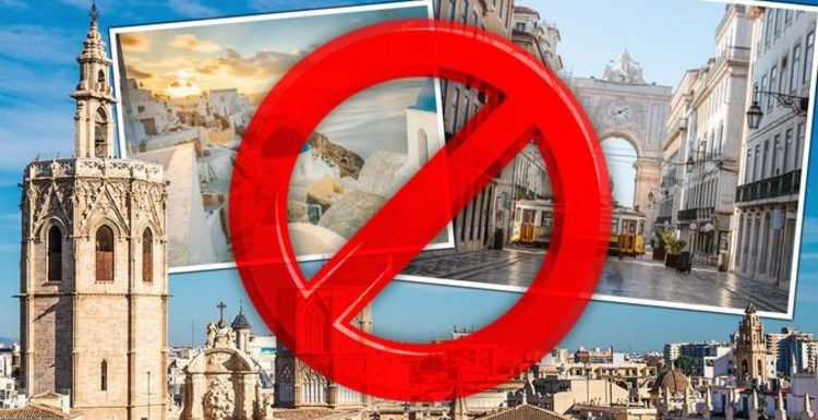 Holidays: FCDO advice for France, Spain, Italy, Greece & Portugal as UK travel blocked
