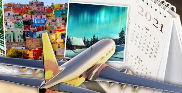 Holidays: How to prepare for 2021 – destination guide month by month of where to go & when