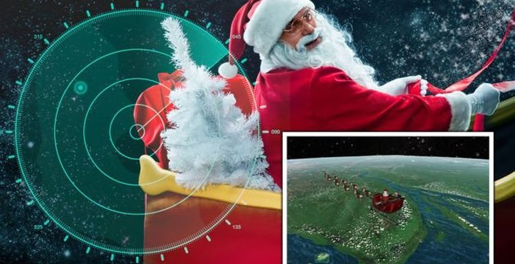 Santa Tracker LIVE: Where in the world is Father Christmas now? Follow his travels here