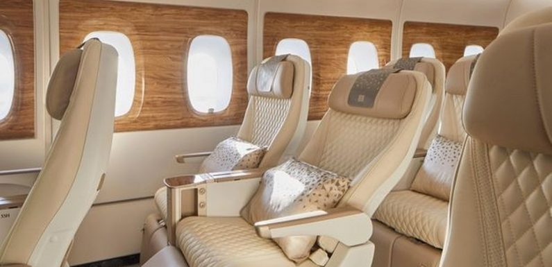 Emirates unveil new A380 aircraft with luxurious new premium economy cabin