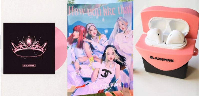 """These Holiday Gift Ideas For BLACKPINK Fans Are Sweeter Than """"Ice Cream"""""""