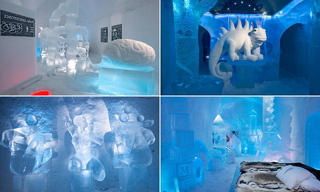 Sweden's Icehotel reveals its new one-of-a-kind suites for 2021