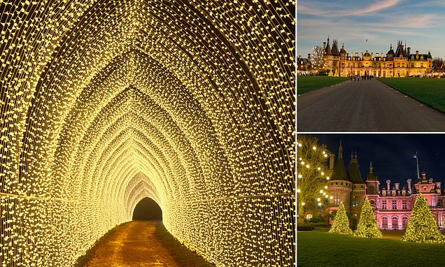 Let it glow! Garden light shows are giving this Christmas sparkle