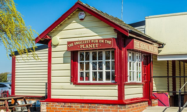 A foodie tour of Cleethorpes, including the world's smallest pub