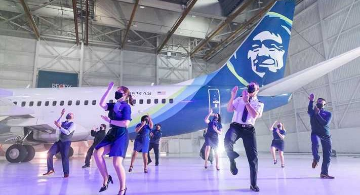 Attention, '80s music fans: Alaska Airlines parodies 'Safety Dance' in new video