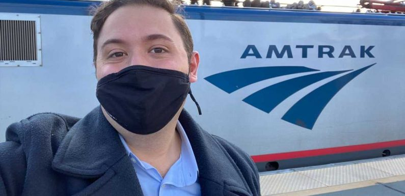 I flew from New York to Boston and returned on Amtrak. Here's why the train blew the plane out of the water during the pandemic.