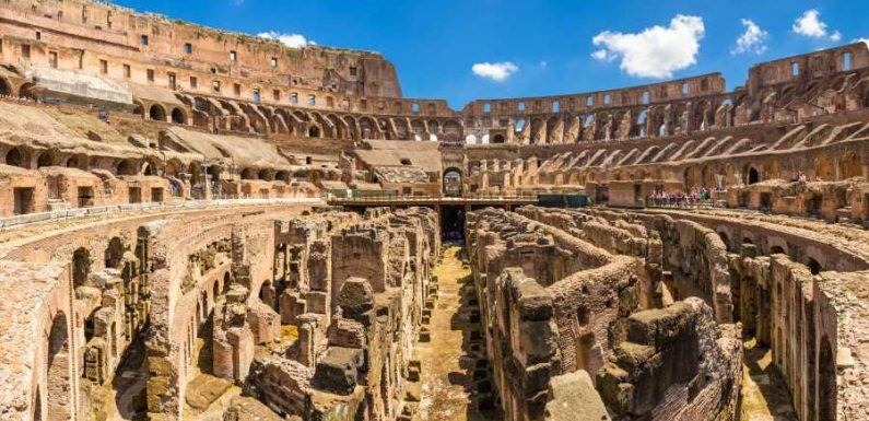Italy Plans to Build Retractable Floor at the Colosseum so It Can Host Live Concerts and Theater